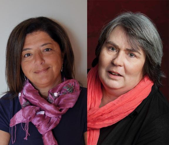 Laïla Héloua & Corinne De Vailly