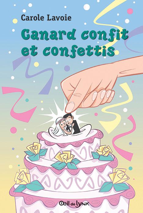 Canard confit et confettis