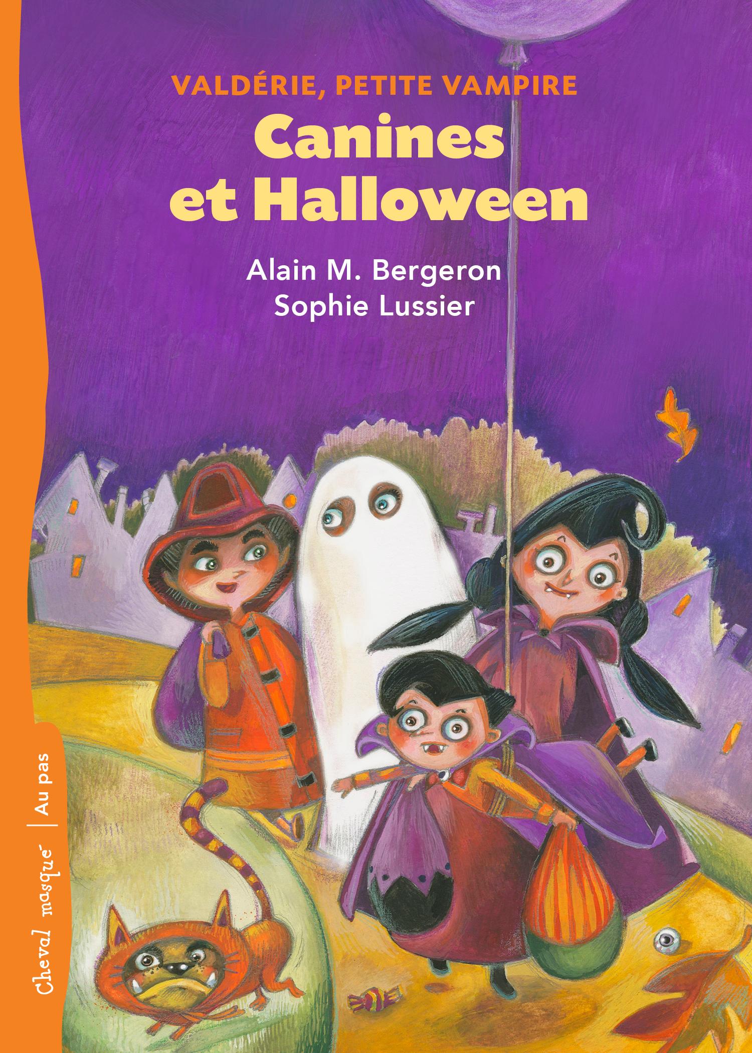 Canines et Halloween : Valdérie, petite vampire – no.3