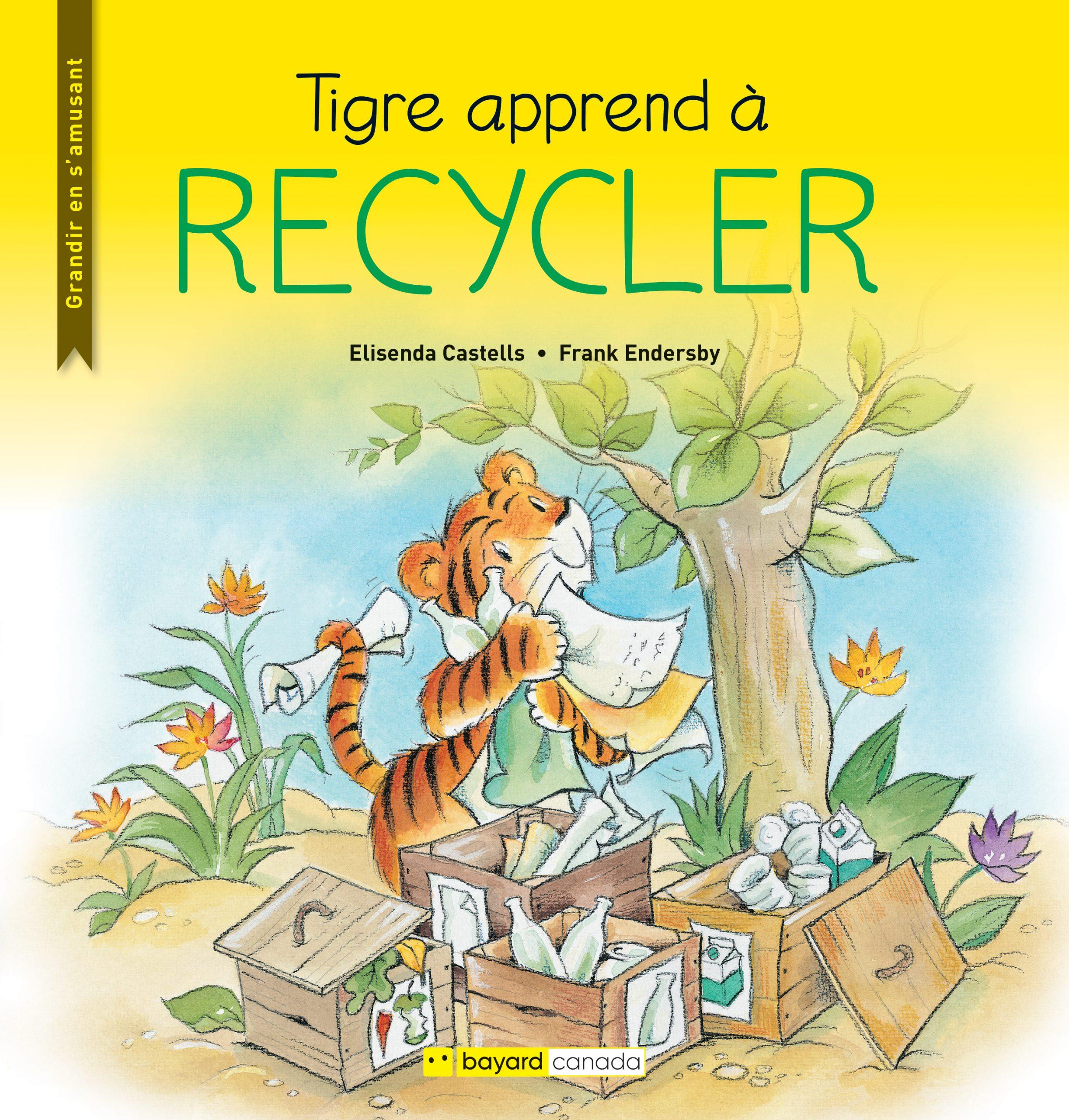 Tigre apprend à recycler