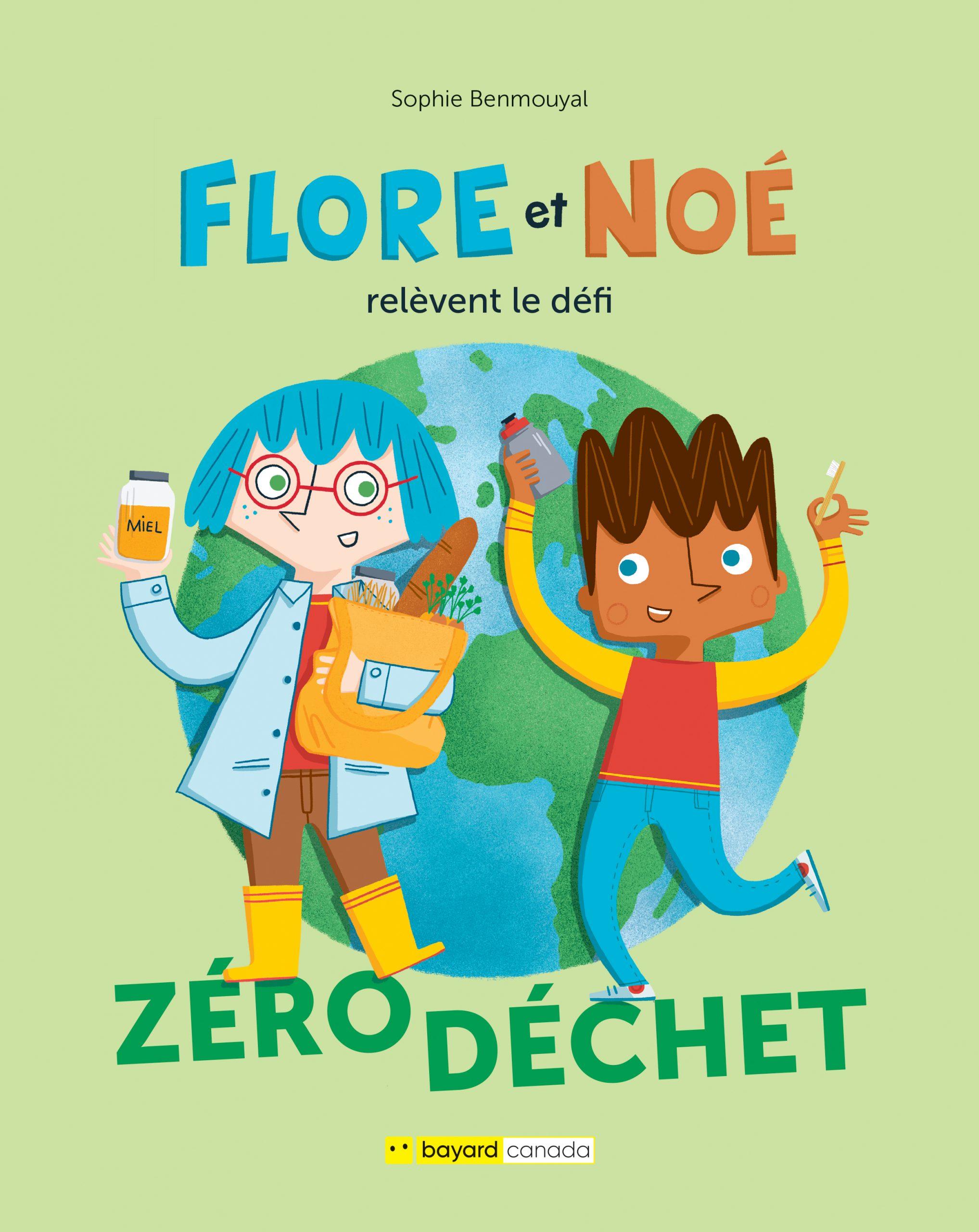 Flore et Noé relèvent le défi zéro déchet